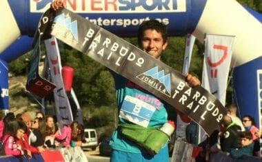 Manuel Merillas y Ragna Debats fueron los vencedores de la V Barbudo Trail