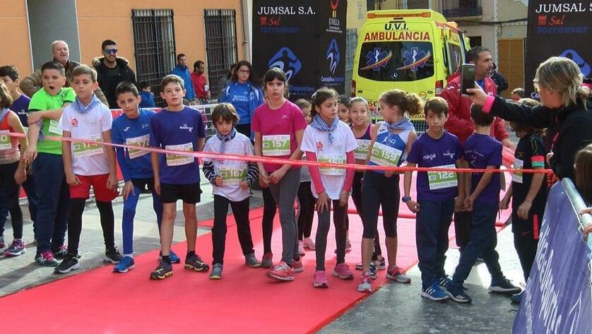 Numerosa participación del Athletic Club Vinos DOP Jumilla en en la III Barbudico y V Barbudo Trail