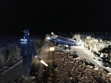 policia-accidente-carretera-carche-jumilla