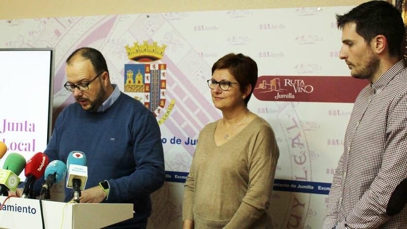 La Junta de Gobierno adjudica las obras del rocódromo Polideportivo La Hoya