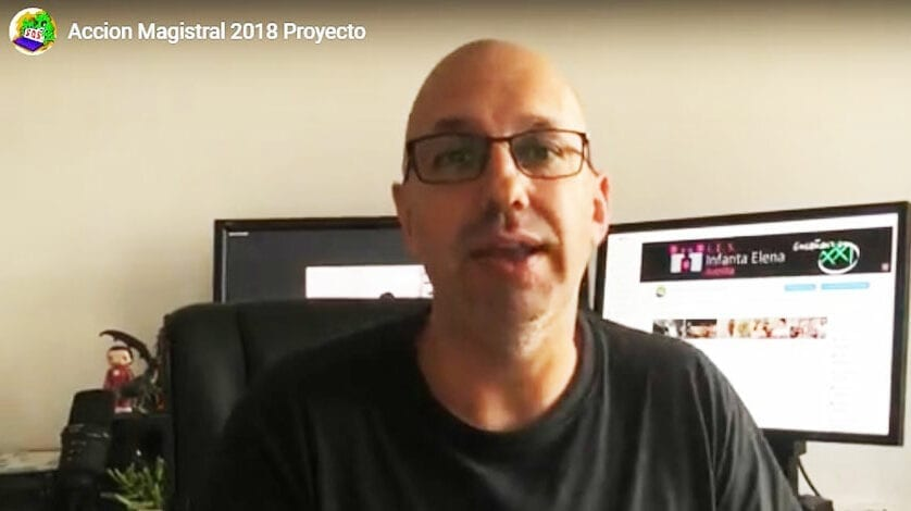 El profesor Andrés Carlos López elegido premio nacional de educación Acción Magistral