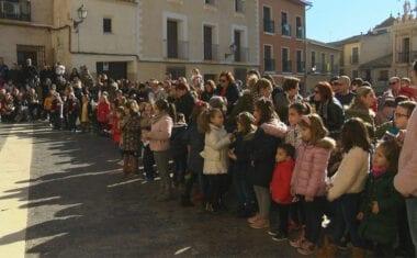 Con las Campanadas Infantiles los niños de Jumilla despiden el año en la Plaza de Arriba