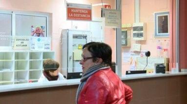 Mostrador citas centro salud Jumilla
