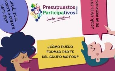 El jueves se presentan las Autobases y el Foro de Constitución de los Presupuestos Partipativos