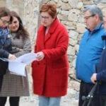 Avanzan las obras de renovación de los entornos de Santa Ana La Vieja y la Fuente de la Jarra
