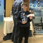 Carlos Molina se proclama mejor jugador sub-12 del Torneo Ajedrez Mar Menor Hotel Traiña