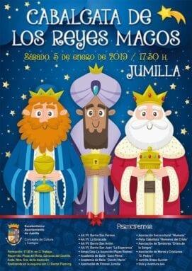Cabalgata de Reyes Magos 2019 Jumilla