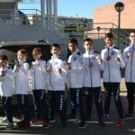 El Club Taekwondo Jumilla estrena su medallero con un oro y cuatro bronces