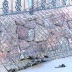 Queman un colchón en la pista de Petanca de Ronda de Poniente