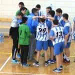 El equipo cadete 'B' de balonmano no pudo con el Judesa Molina