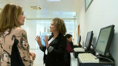 Dtra SEF Jmilla muestra instalaciones a dtra gral SEF