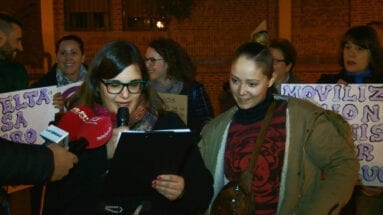 Concentración feminista en Jumilla