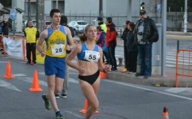 Bronce para Ángela Carrión en el Campeonato Regional de Marcha en Ruta