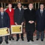 La Cofradía de la Sentencia reconoce a sus hermanos Antonio Carrión y a José María Navarro