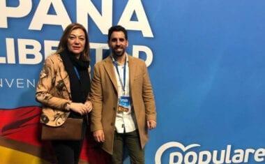 La presidenta y el secretario general de los populares acuden a la Convención Nacional de su partido