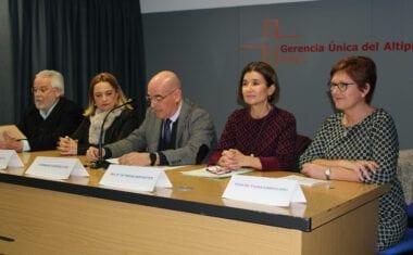 Presentado el Plan de Coordinación Sociosanitaria del Altiplano para la atención de trastorno mental o drogodependencia