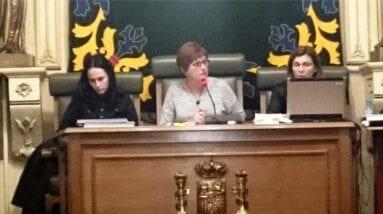 Alcaldesa Pleno Jumilla