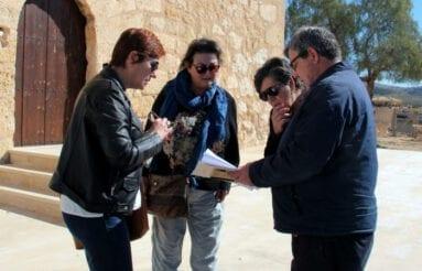 Alcaldesa concejal Obras Jumilla en Torre Rico