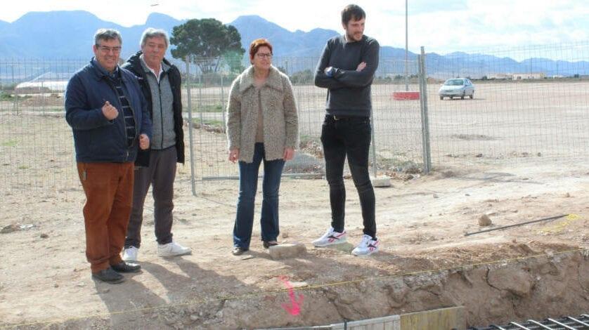 Ha comenzado las obras del rocódromo y del cambio de iluminación del Polideportivo La Hoya