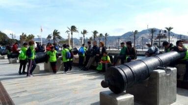 Alumnos jumillanos puerto Cartagena