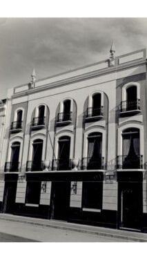 Antiguas oficinas de la Caja de Ahorros del Sureste en Jumilla