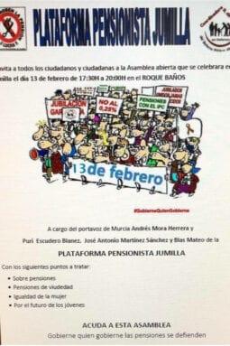 Asamblea Pensionistas Jumilla