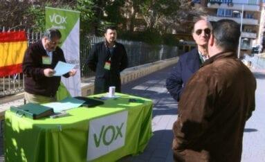 Mesa informativa VOX Jumilla