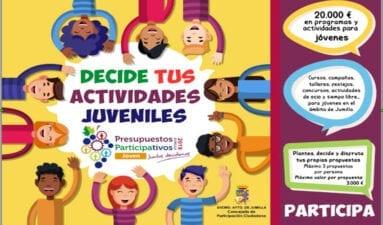 Presupuestos Participativos Juventud Jumilla