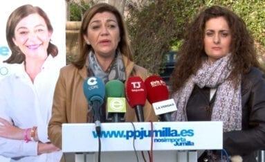 Seve Gonzalez y Paqui Tomas PP Jumilla