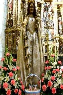 Virgen Candelaria Santiago Jumilla