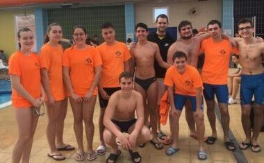 La Escuela de Natación Jumilla estuvo en la tercera jornada de la Liga Regional