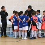 Gran victoria de los alevines de la Escuela de Fútbol Sala Carchelo