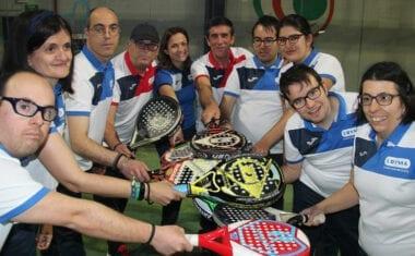 Aspajunide estará en el Campeonato de España de Pádel FEDDI
