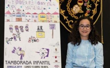 Autora cartel Tamborada Infantil Jumilla