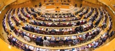 Cámara del Senado de España