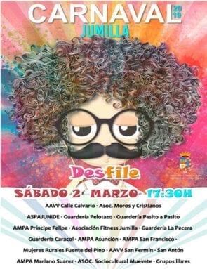 Cartel Desfile Carnaval Jumilla