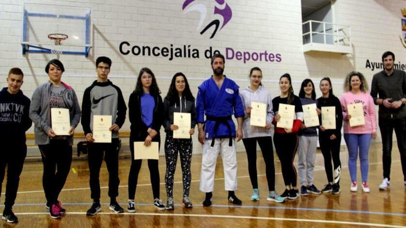 Concluye el curso de Defensa Personal y Autoprotección ofertado por Juventud