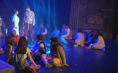 """""""Jesucristo Superstar"""" del colegio San Francisco de nuevo en el Teatro Vico"""