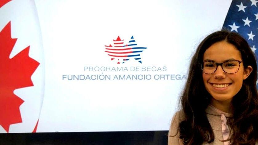 Lucía López del IES Infanta Elena consigue una beca de la Fundación Amancio Ortega