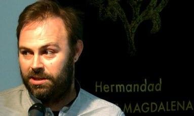 Luis Ruiz autor cartel aniversario Magdalena Jumilla