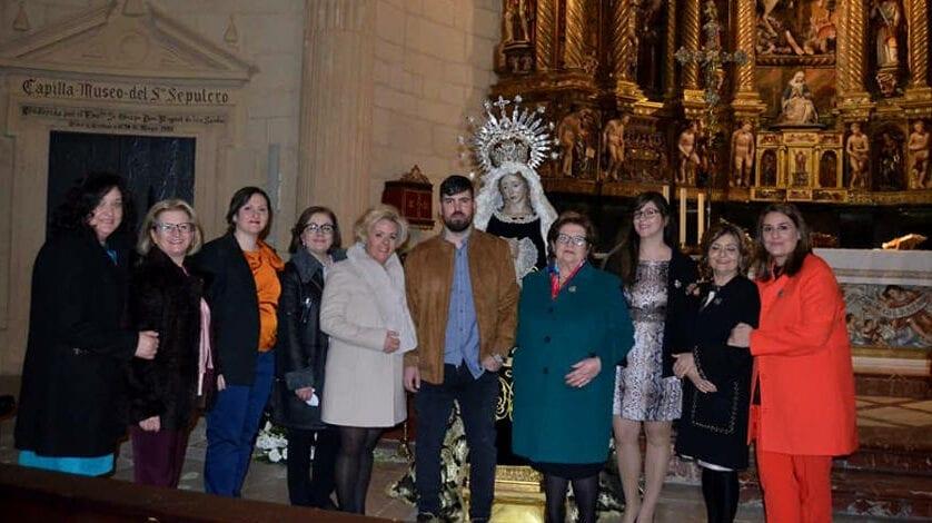 Presentada la marcha procesional en honor a Nuestra Señora de la Soledad