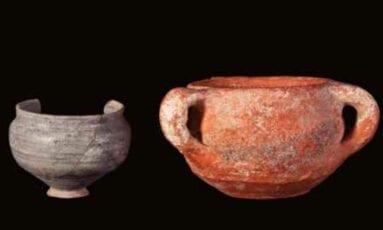 Vasos ceramica Ñorica Jumilla