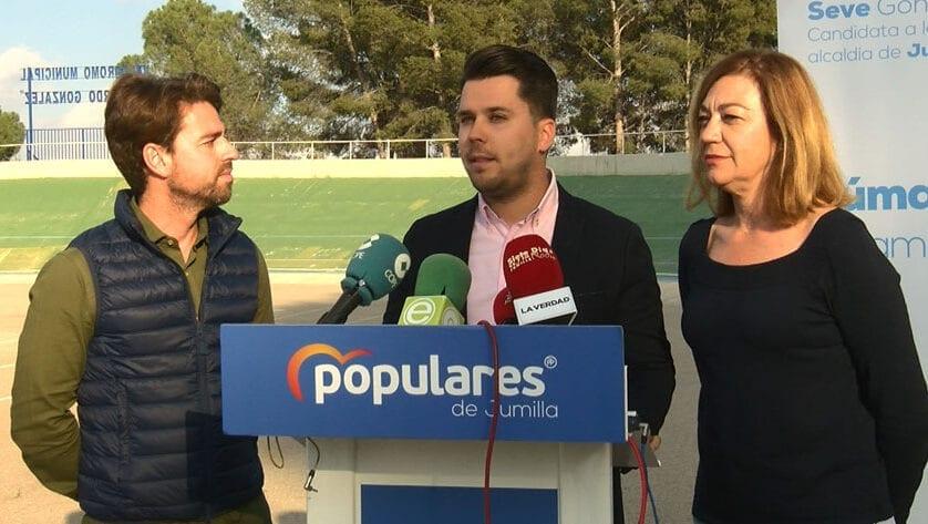 El PP presenta a Aitor Jiménez como el responsable del área de Deporte y Juventud