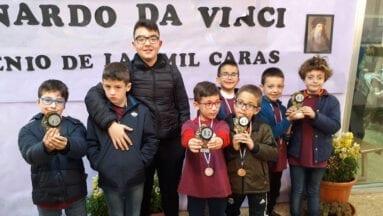 Ajedrecistas del Club Coimbra en el VII Torneo de Ajedrez Rápido del colegio San José de Lorca