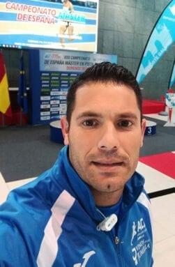 Álex Barrón se quedó a las puertas del podio en lanzamiento de peso