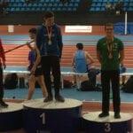 Bronce en los 200 m lisos para Juan González en el Campeonato de España sub-20