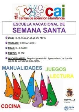 Escuela Vacacional de Semana Santa 2019
