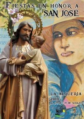 Cartel Fiestas de La Alquería 2019