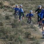 Víctor Alonso de la Escuela de Ciclismo Jumilla rozó el podio en Beniel