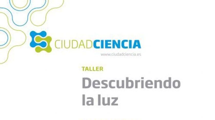 'Descubriendo la luz', taller de Ciudad Ciencia que visitará Jumilla este jueves y viernes